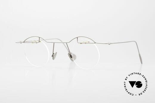 Paul Chiol 02 Rimless Eyeglasses Bauhaus Details