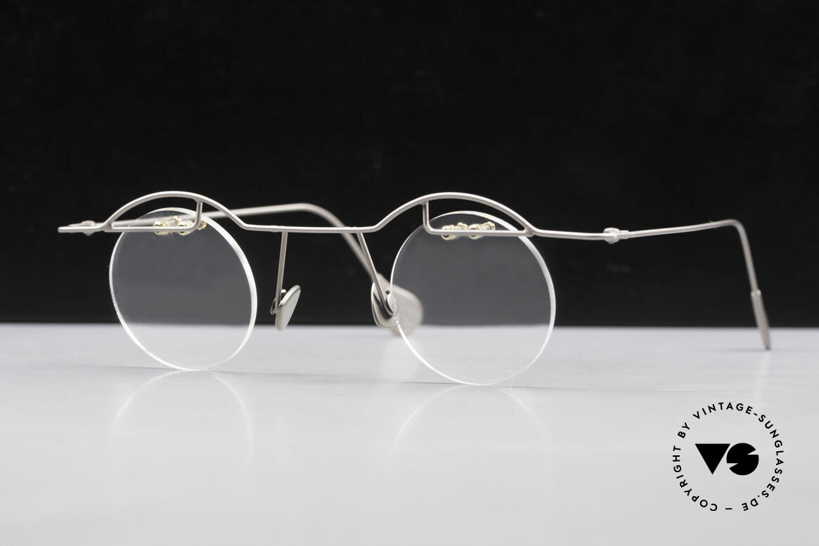 Paul Chiol 02 Rimless Eyeglasses Bauhaus, exclusively top-notch frame components; high-end, Made for Men and Women