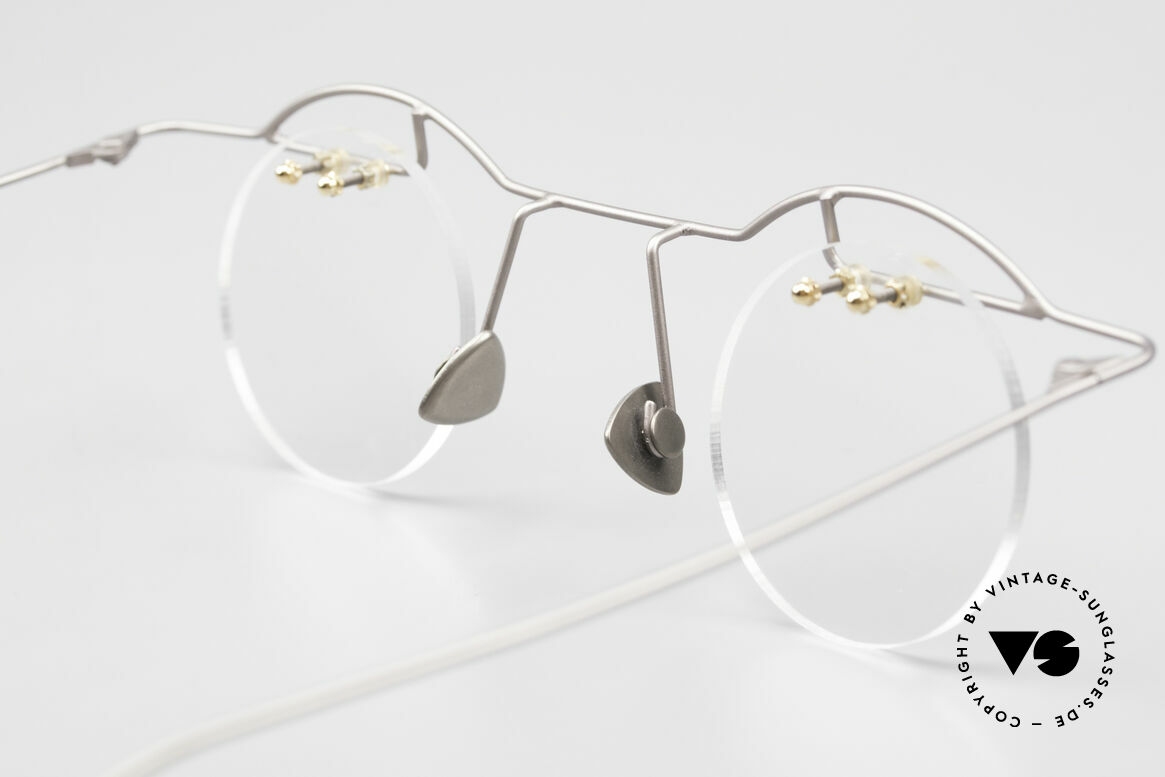 Paul Chiol 02 Rimless Eyeglasses Bauhaus, Size: small, Made for Men and Women