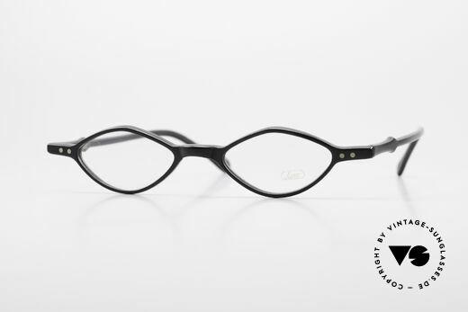 Lunor A44 Reading Glasses Acetate Frame Details