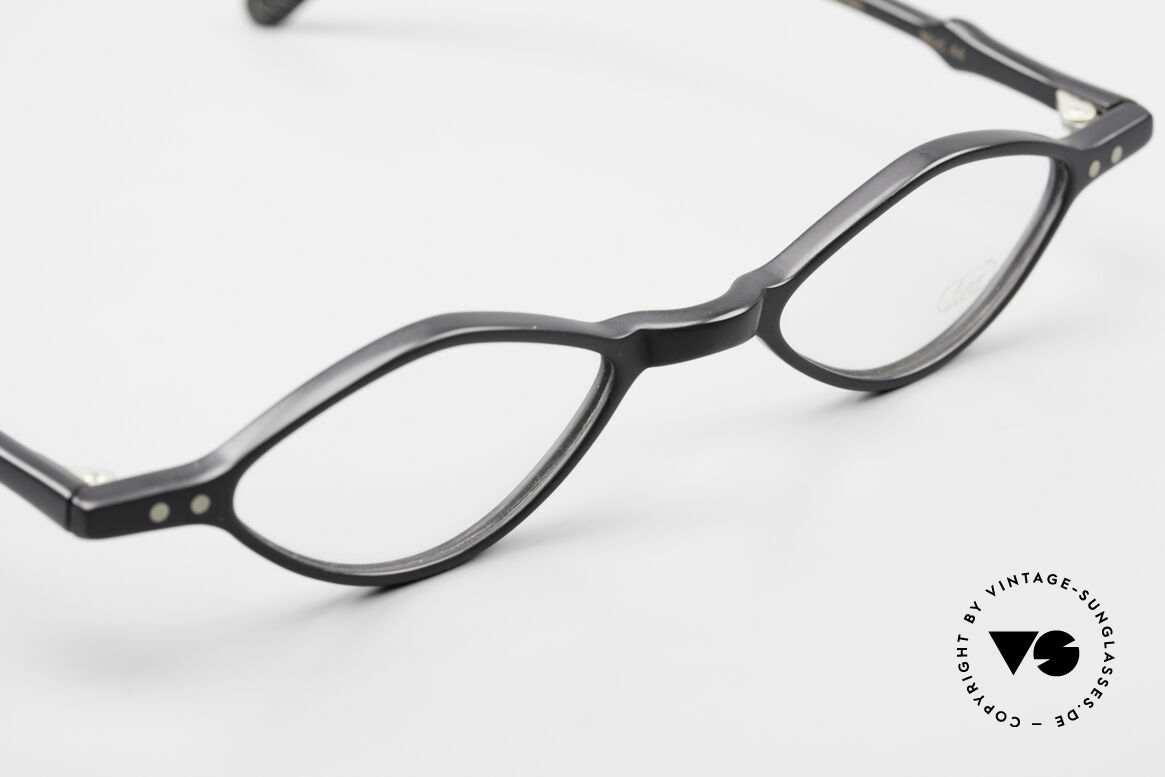 Lunor A44 Reading Glasses Acetate Frame, unworn (like all our vintage Lunor frames & sunglasses), Made for Men and Women