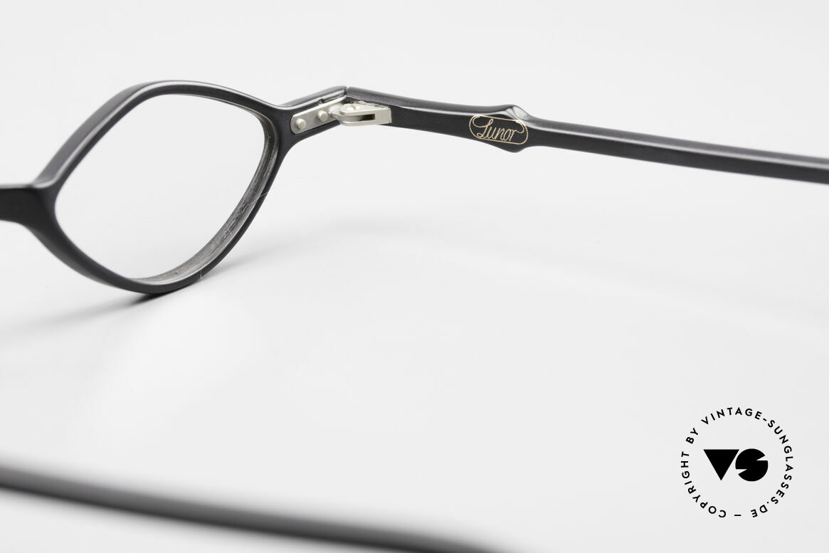 Lunor A44 Reading Glasses Acetate Frame, Size: small, Made for Men and Women