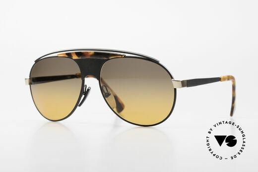 Alain Mikli 634 / 0015 Lenny Kravitz Sunglasses Details