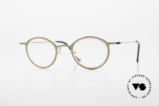 ProDesign 7041 Unisex Panto Glasses 90s 2000s Details