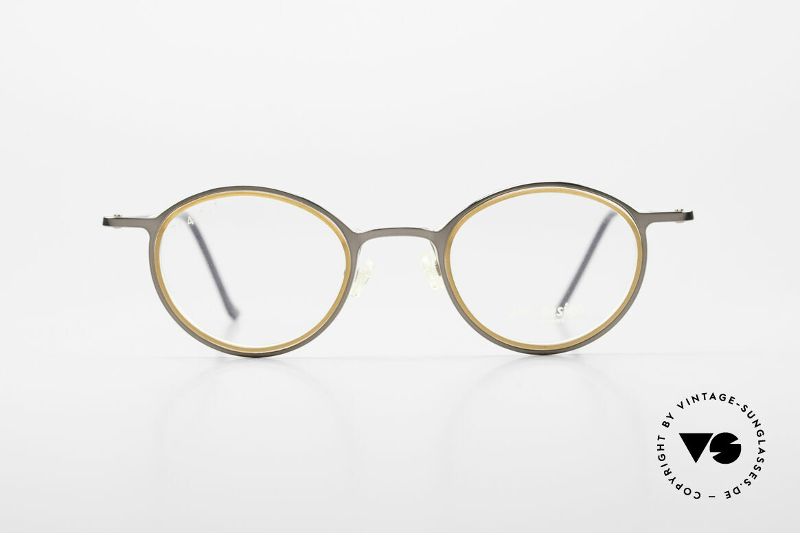 ProDesign 7041 Unisex Panto Glasses 90s 2000s, mod-name.: Better Color 7041, Gr. 41-24, col. 5022, Made for Men and Women