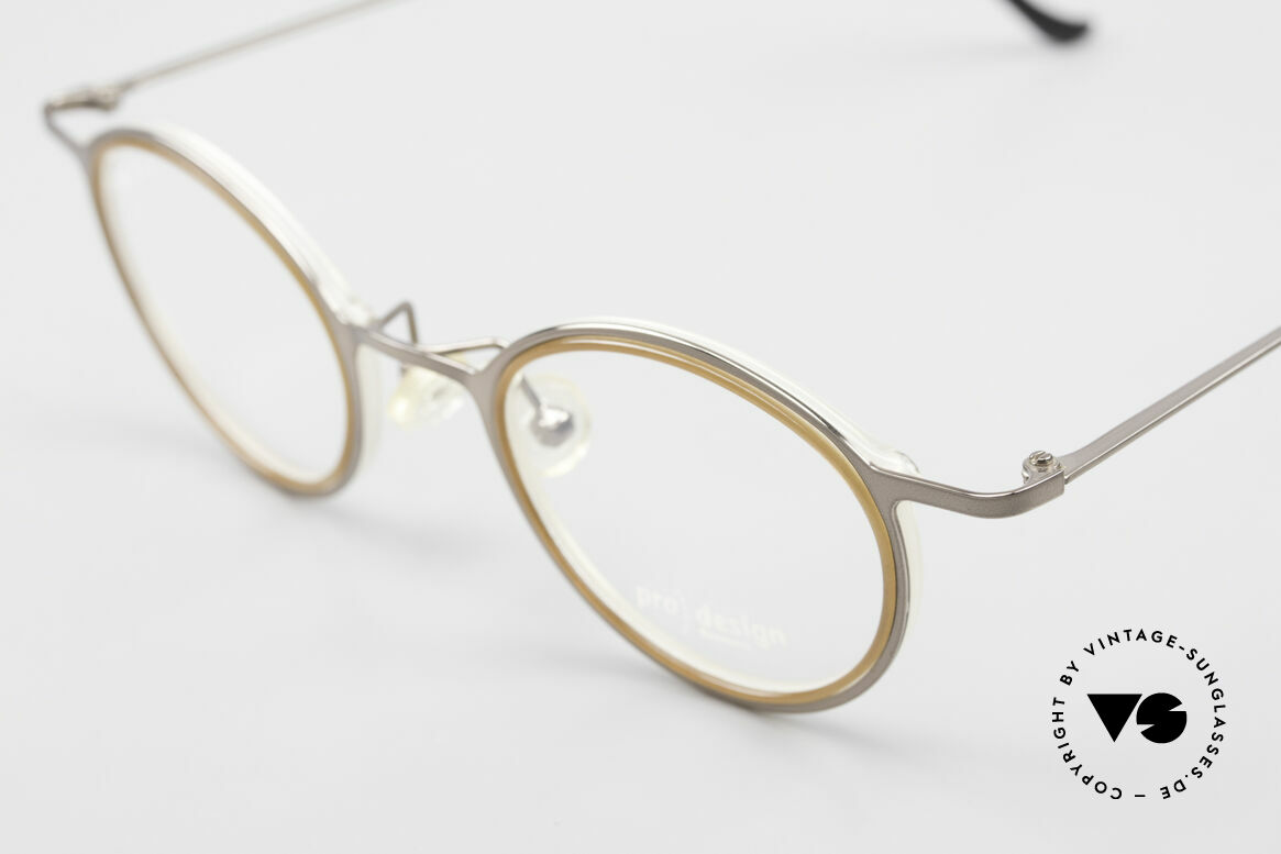 ProDesign 7041 Unisex Panto Glasses 90s 2000s, classic timeless, but still striking PRO DESIGN!, Made for Men and Women