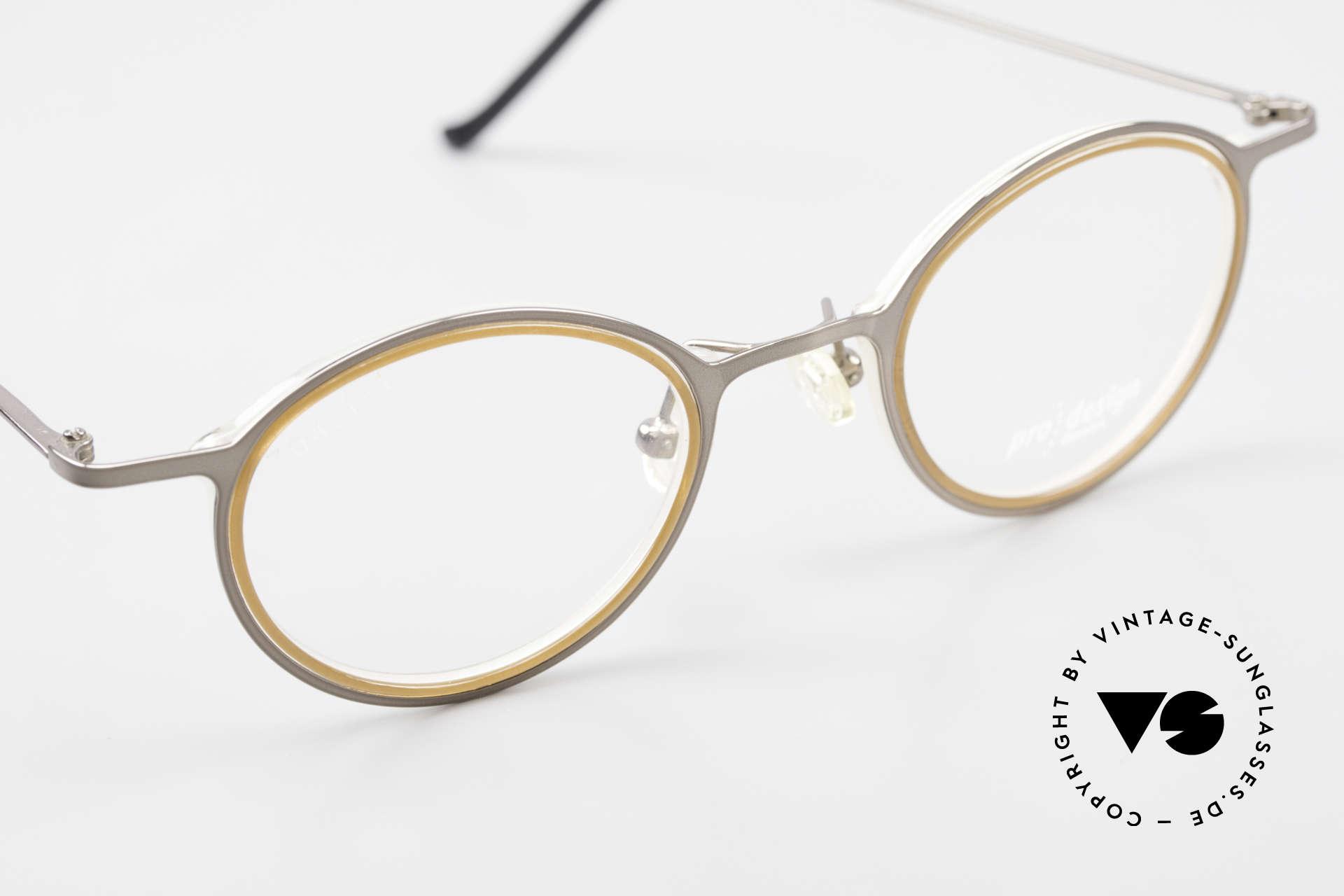 ProDesign 7041 Unisex Panto Glasses 90s 2000s, UNWORN (like all our vintage ProDesign eyewear), Made for Men and Women