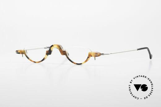 MDG Bauhaus 5010 Minimalist Reading Glasses 90s Details