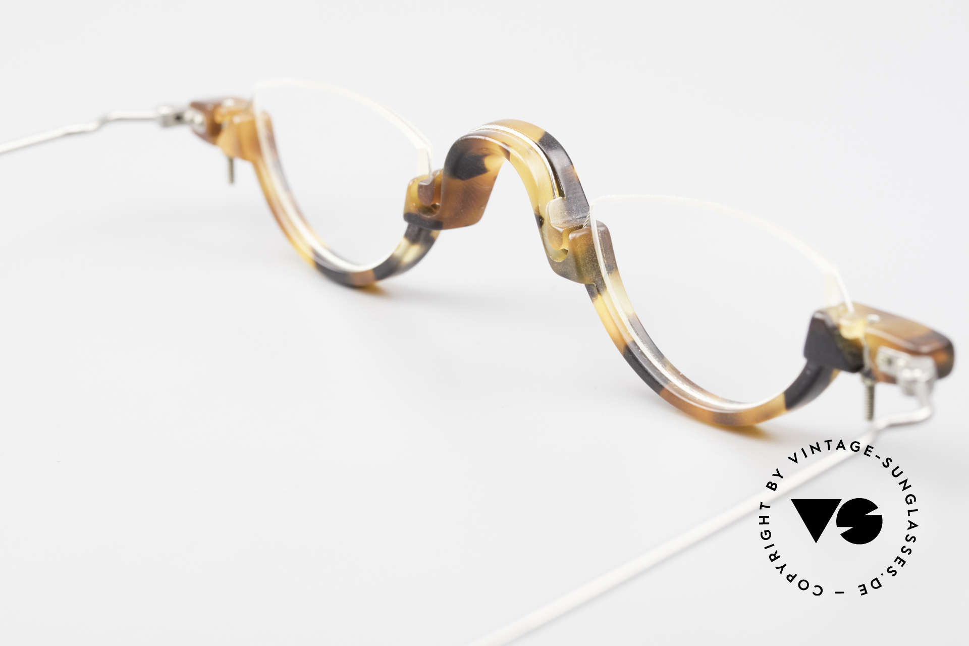 MDG Bauhaus 5010 Minimalist Reading Glasses 90s, the demo lenses should be replaced with prescriptions, Made for Men