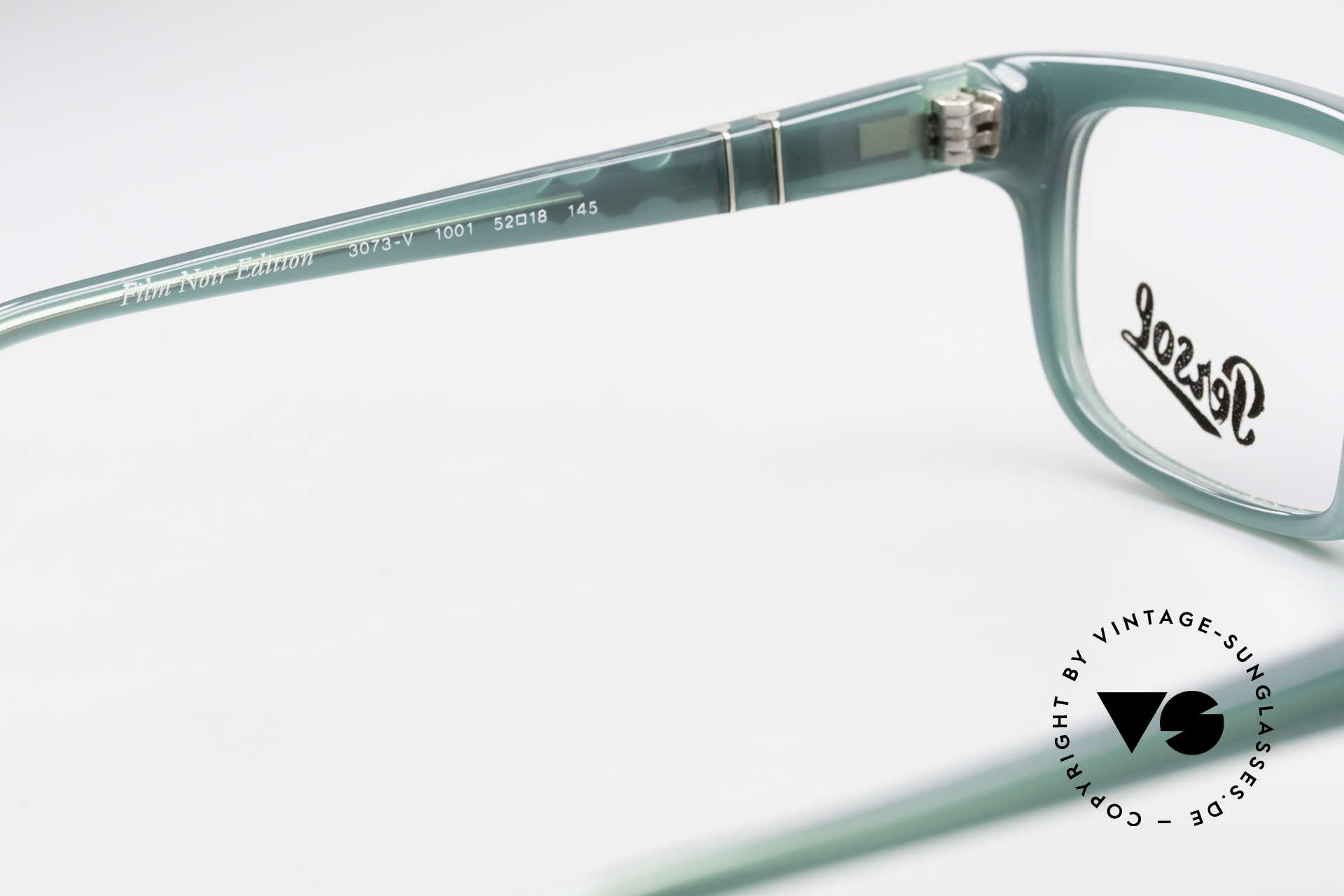 Persol 3073 Film Noir Edition Eyeglasses, original name: 3073-V, col. 1001, size 52/18, 145, Made for Men