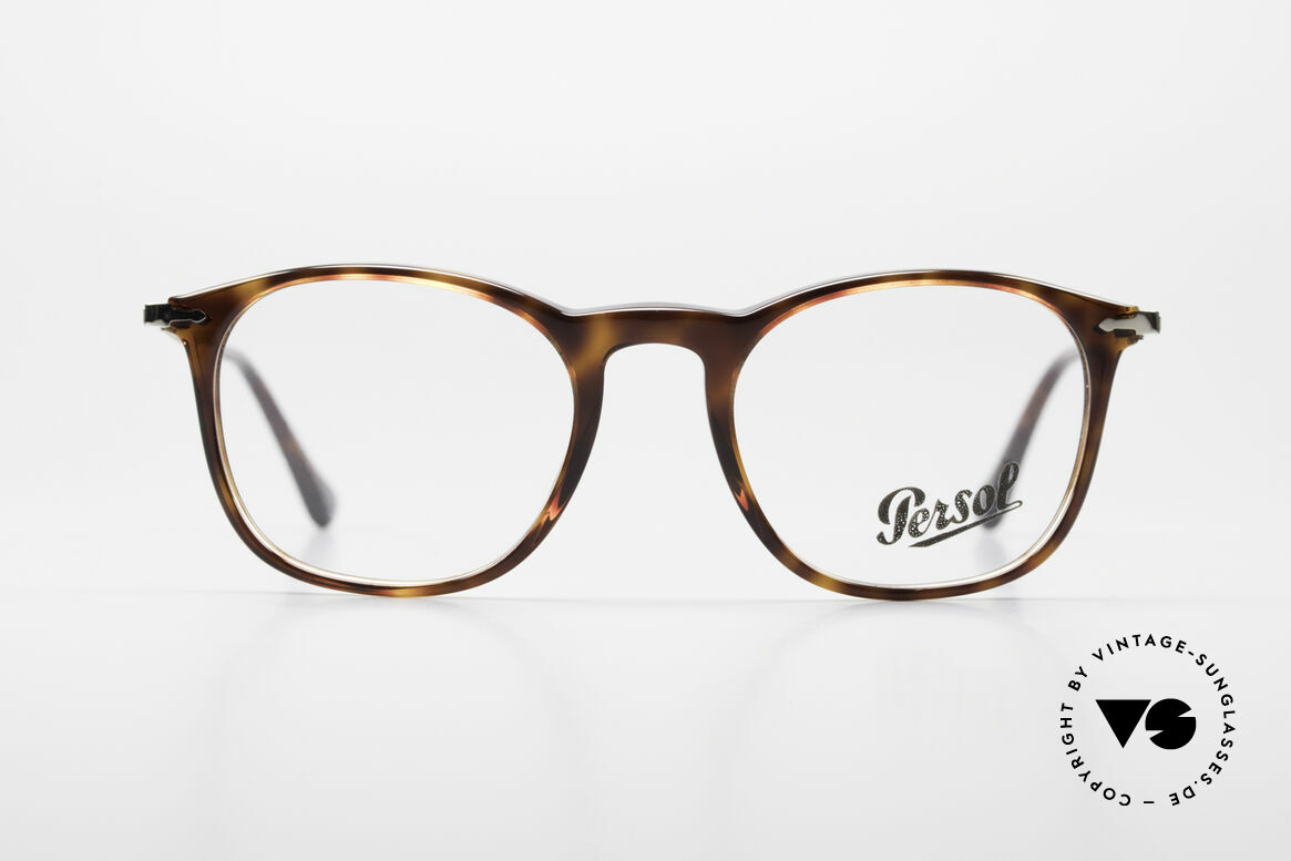Persol 3124 Classic Timeless Unisex Frame, very elegant Persol eyeglass-frame from Italy, Made for Men and Women