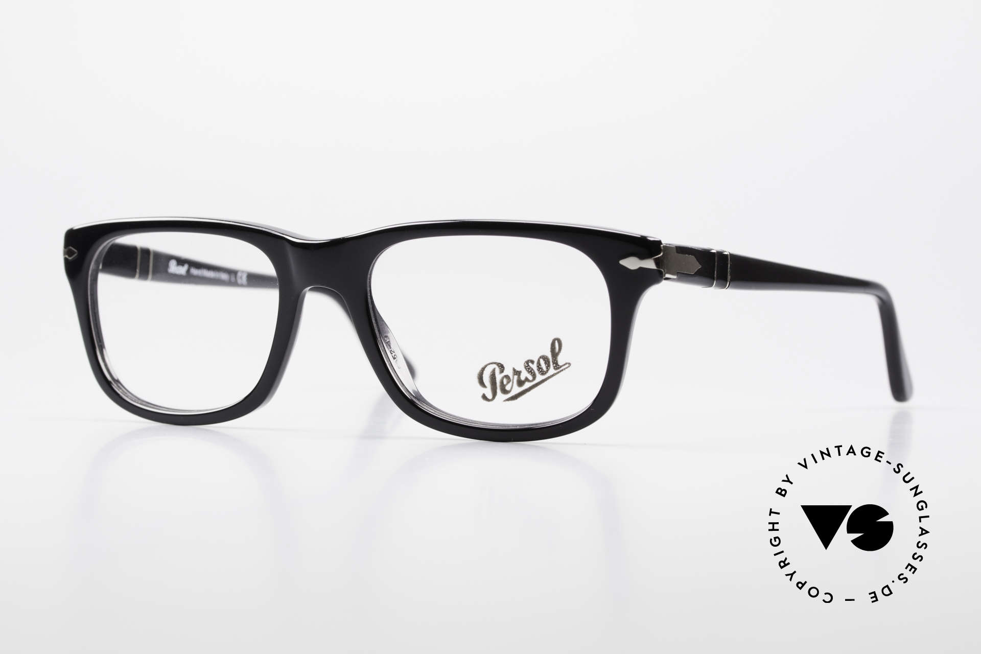 Persol 3029 Striking Persol Glasses Unisex, Persol glasses, mod. 3029 in medium size 52/19, Made for Men and Women