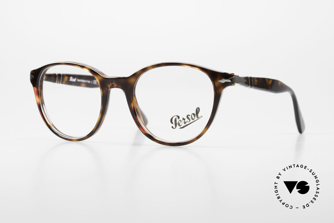 Persol 3153 Timeless Panto Unisex Frame, very elegant PANTO eyeglass-frame from Italy, Made for Men and Women