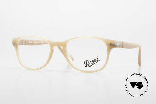 Persol 3085 Ladies Glasses Classic Ambra Details