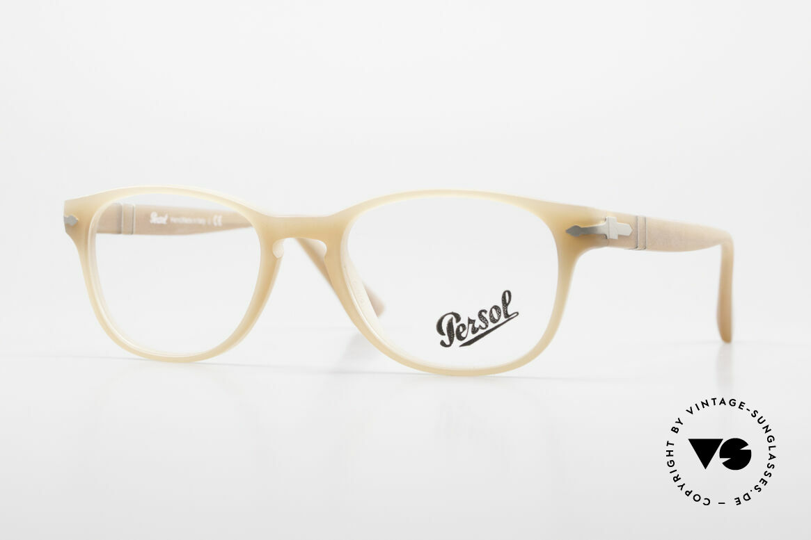 Persol 3085 Ladies Glasses Classic Ambra, Persol 3085: very elegant eyeglasses for women, Made for Women