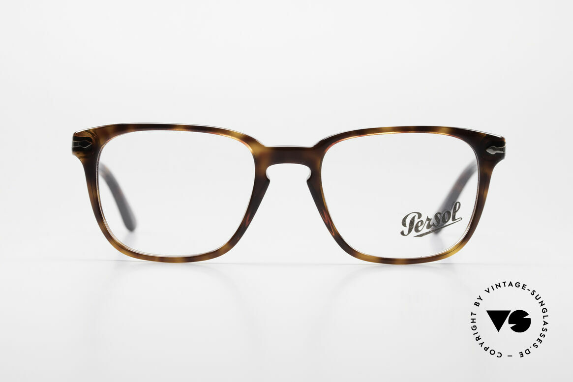 Persol 3117 Square Panto Unisex Glasses, original name: 3117-V, col. 24, size 51-19, 145, Made for Men and Women