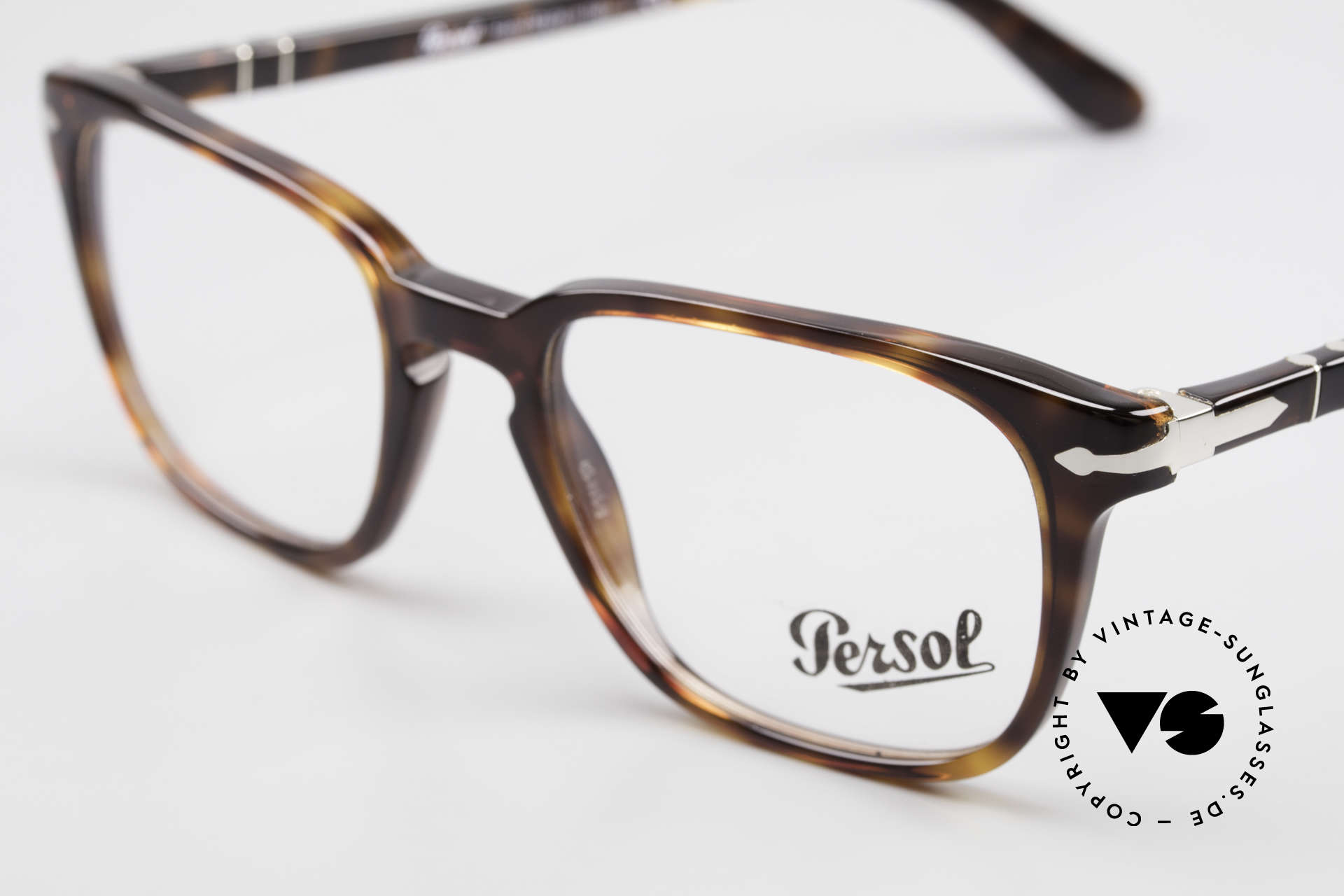 Persol 3117 Square Panto Unisex Glasses, unworn (like all our classic PERSOL eyeglasses), Made for Men and Women
