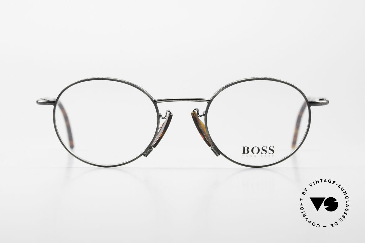 BOSS 4707 Round Panto Style Frame 90's, round vintage 'panto design' eyeglasses by BOSS, Made for Men