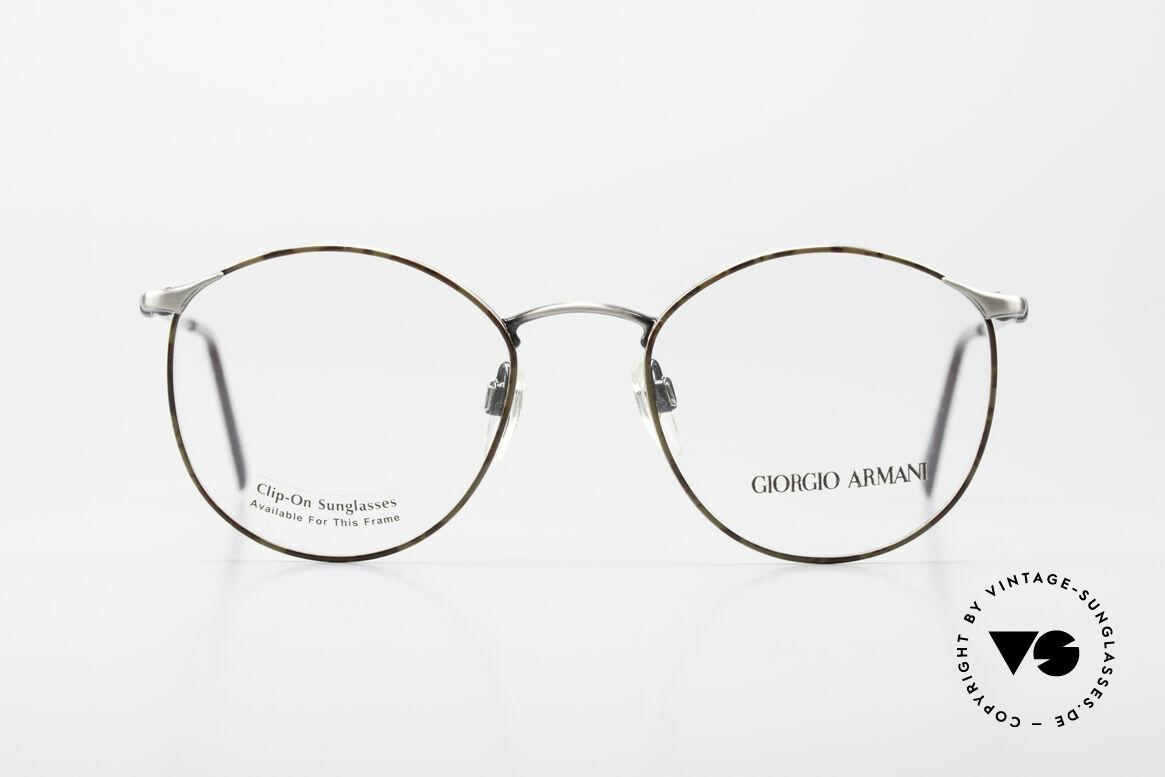 Giorgio Armani 132 Rare Old 90's Panto Eyeglasses, more 'classic' isn't possible (famous 'panto'-design), Made for Men