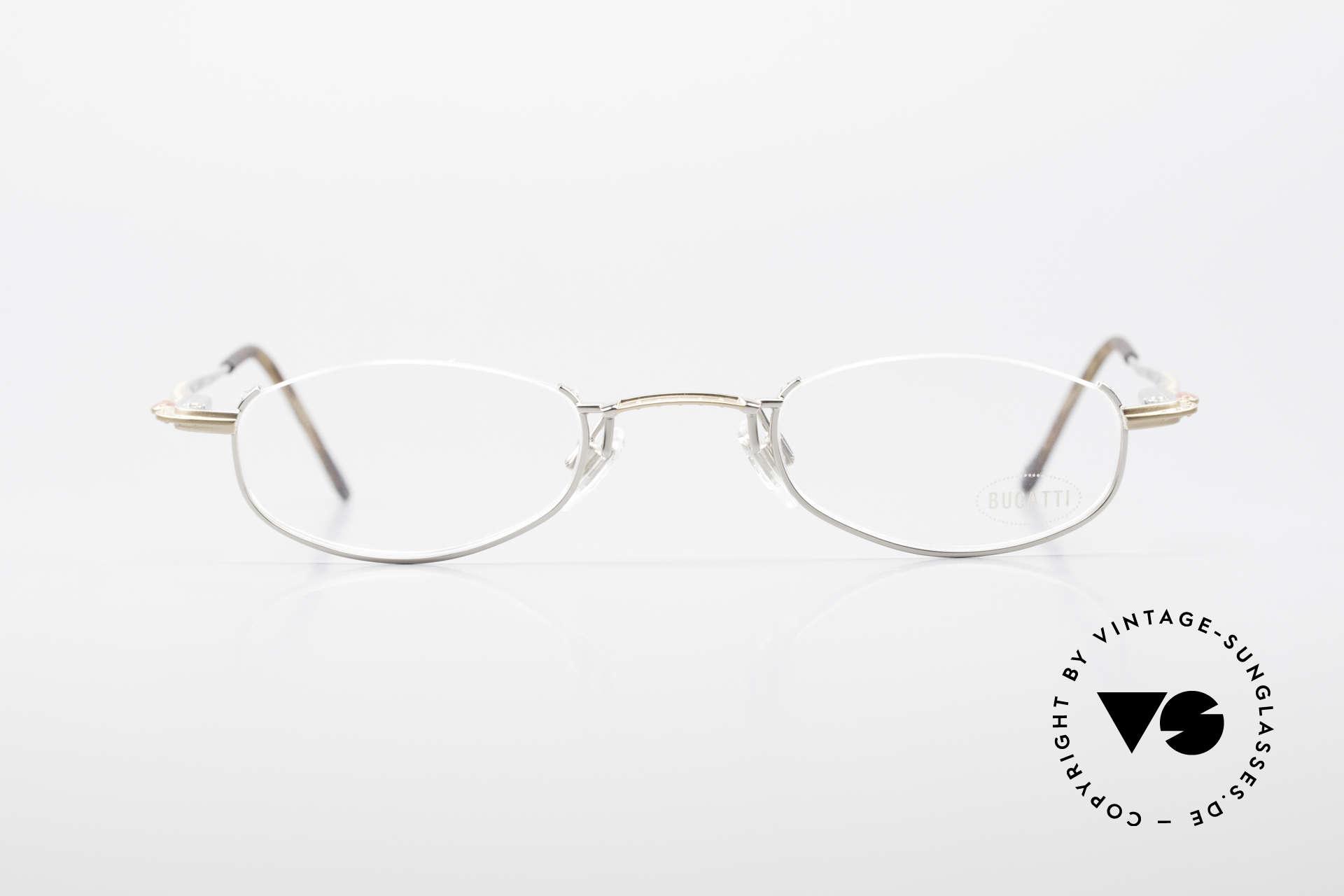 Bugatti 23668 High-Tech Reading Eyeglasses, lightweight frame (17g) with flexible spring hinges, Made for Men