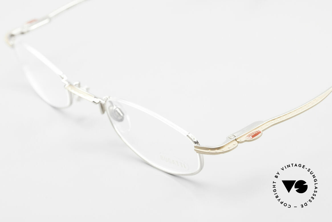 Bugatti 23668 High-Tech Reading Eyeglasses, an original CLASSIC by Bugatti from the late 1990's, Made for Men