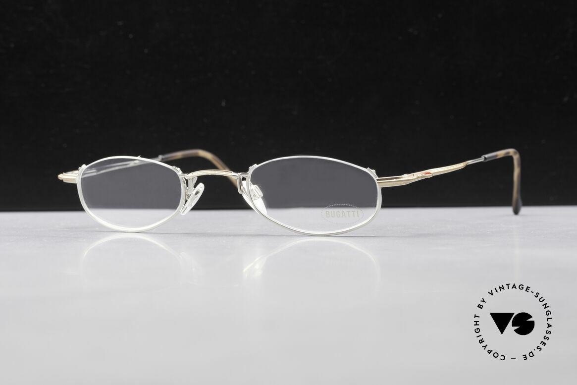 Bugatti 23668 High-Tech Reading Eyeglasses, Size: large, Made for Men