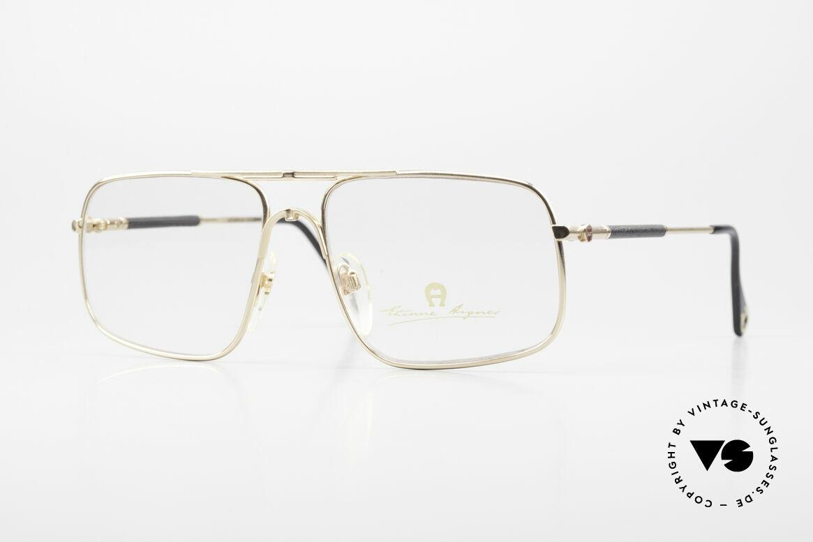 Aigner EA23 Rare 80's Vintage Eyeglasses, Etienne Aigner vintage designer glasses of the 80s, Made for Men