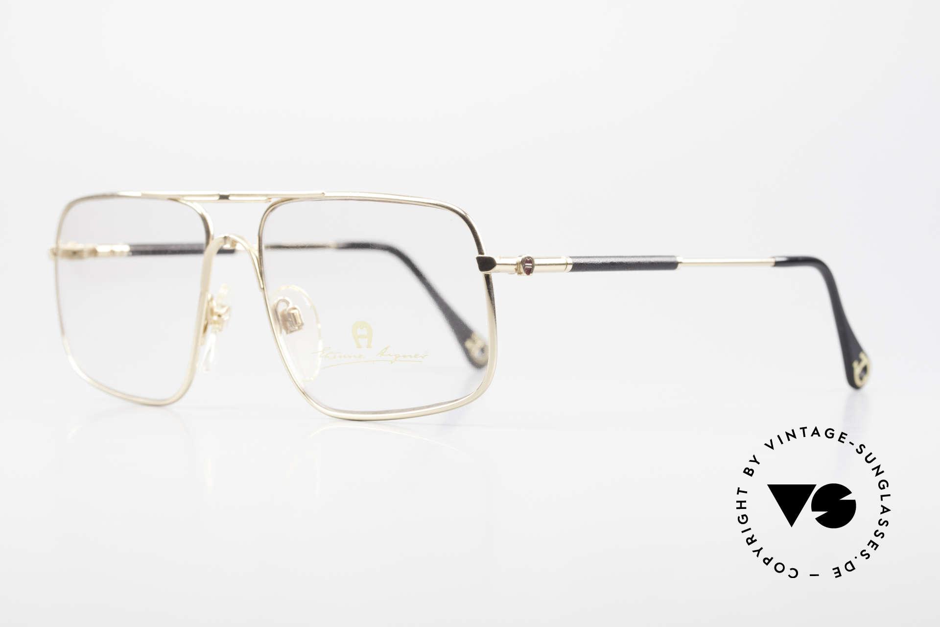 Aigner EA23 Rare 80's Vintage Eyeglasses, true luxury vintage eyewear - just precious & rare!, Made for Men