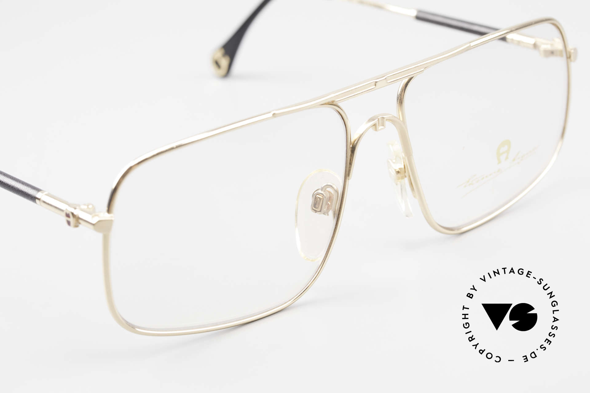 Aigner EA23 Rare 80's Vintage Eyeglasses, never worn (like all our rare 80's Aigner eyeglasses), Made for Men