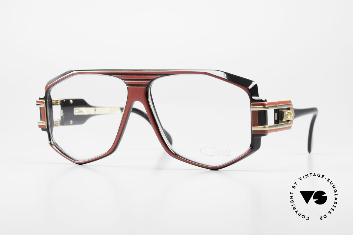 Cazal 163 West Germany 1980's Frame, famous vintage Hip Hop scene glasses from 1987, Made for Men