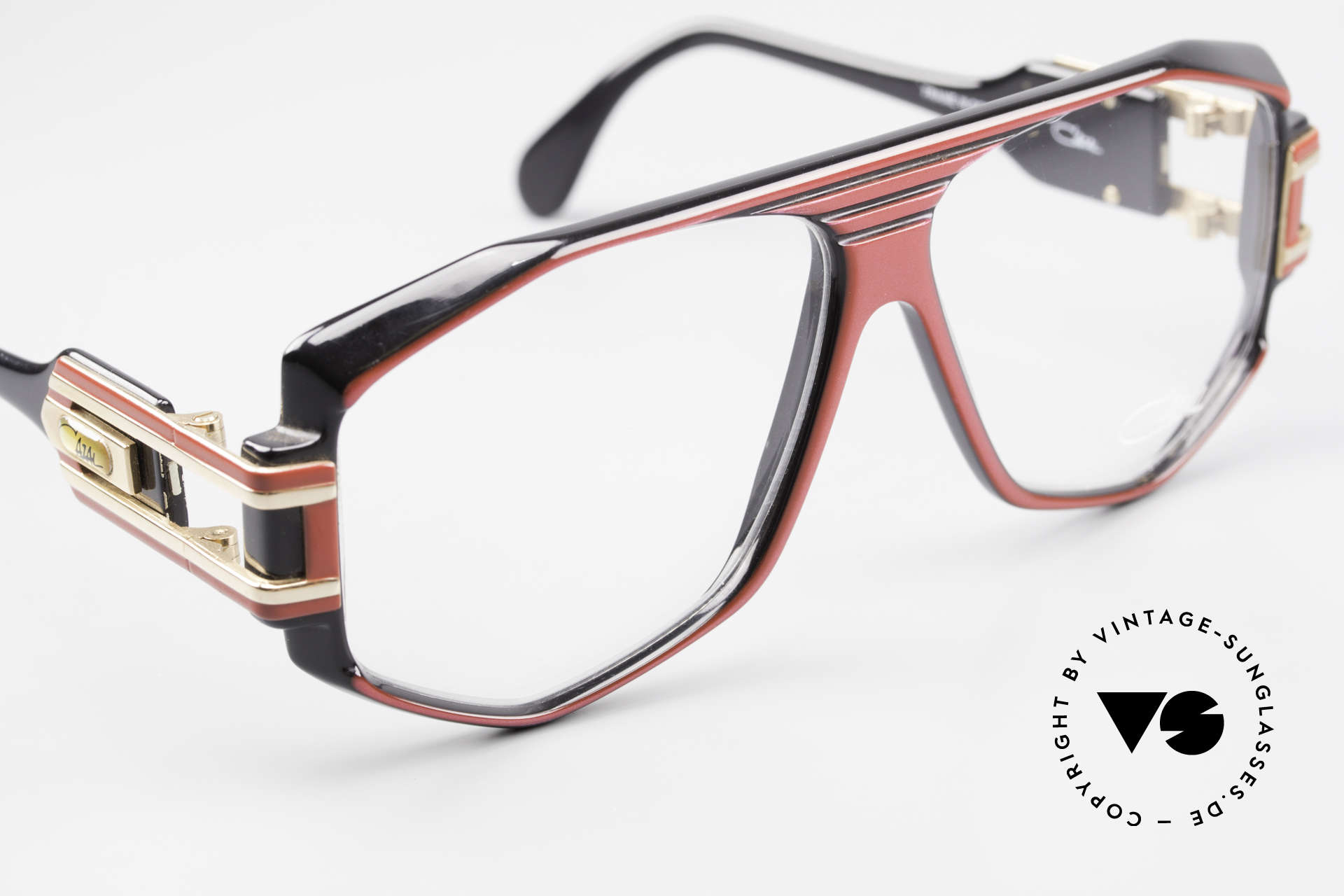 Cazal 163 West Germany 1980's Frame, NO retro or reissue, but a 35 years old ORIGINAL!, Made for Men