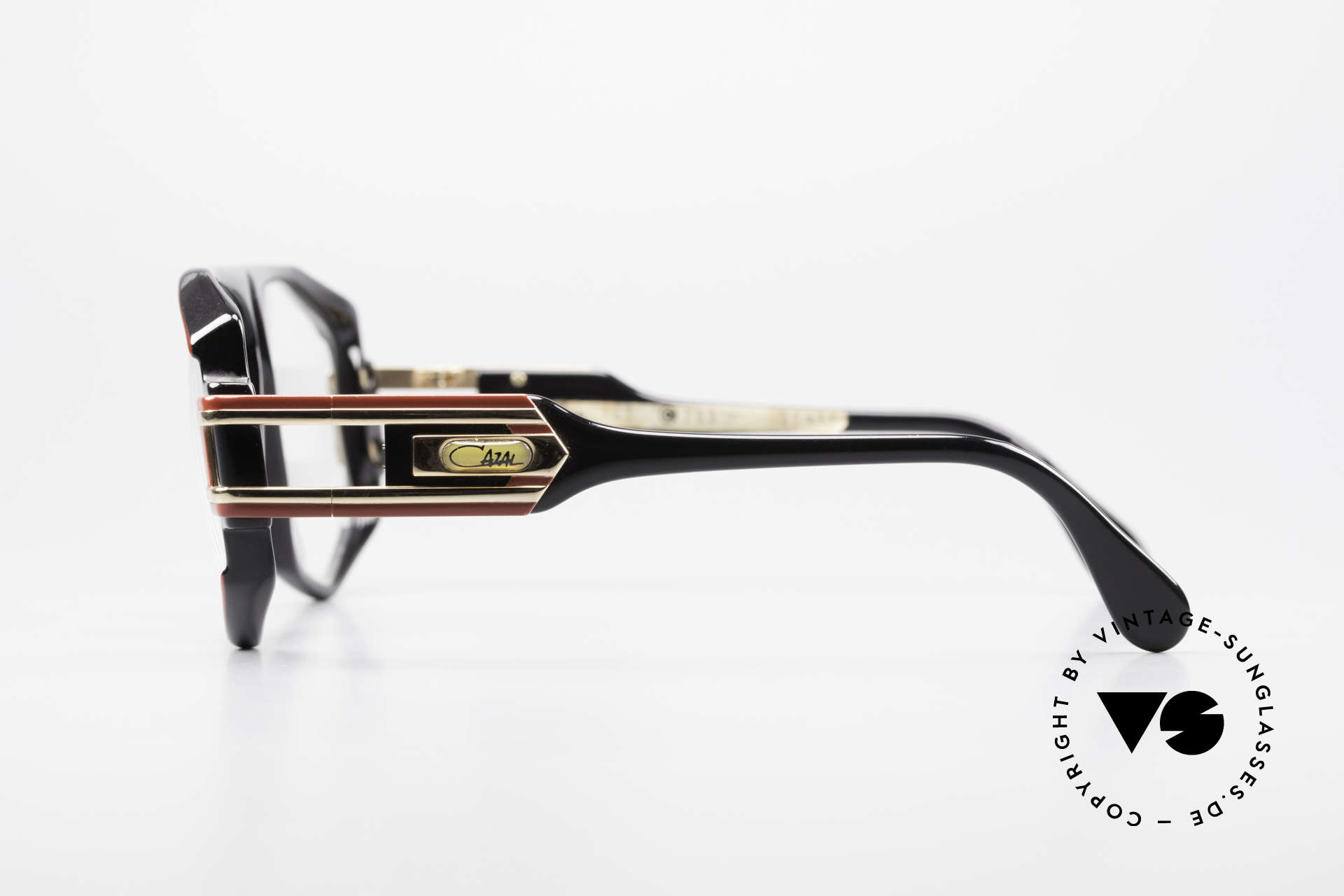 Cazal 163 West Germany 1980's Frame, with orig. Cazal DEMO lenses, collector's glasses, Made for Men