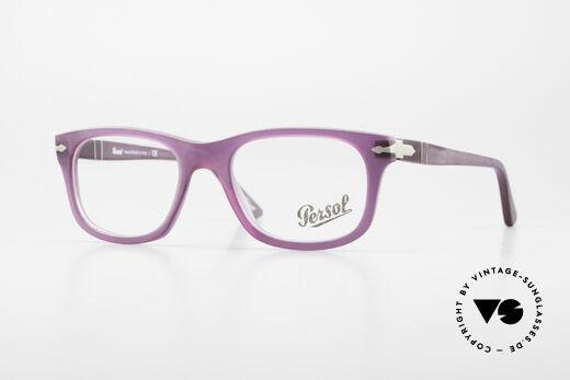 Persol 3029 Ladies Glasses Purple Violet Details