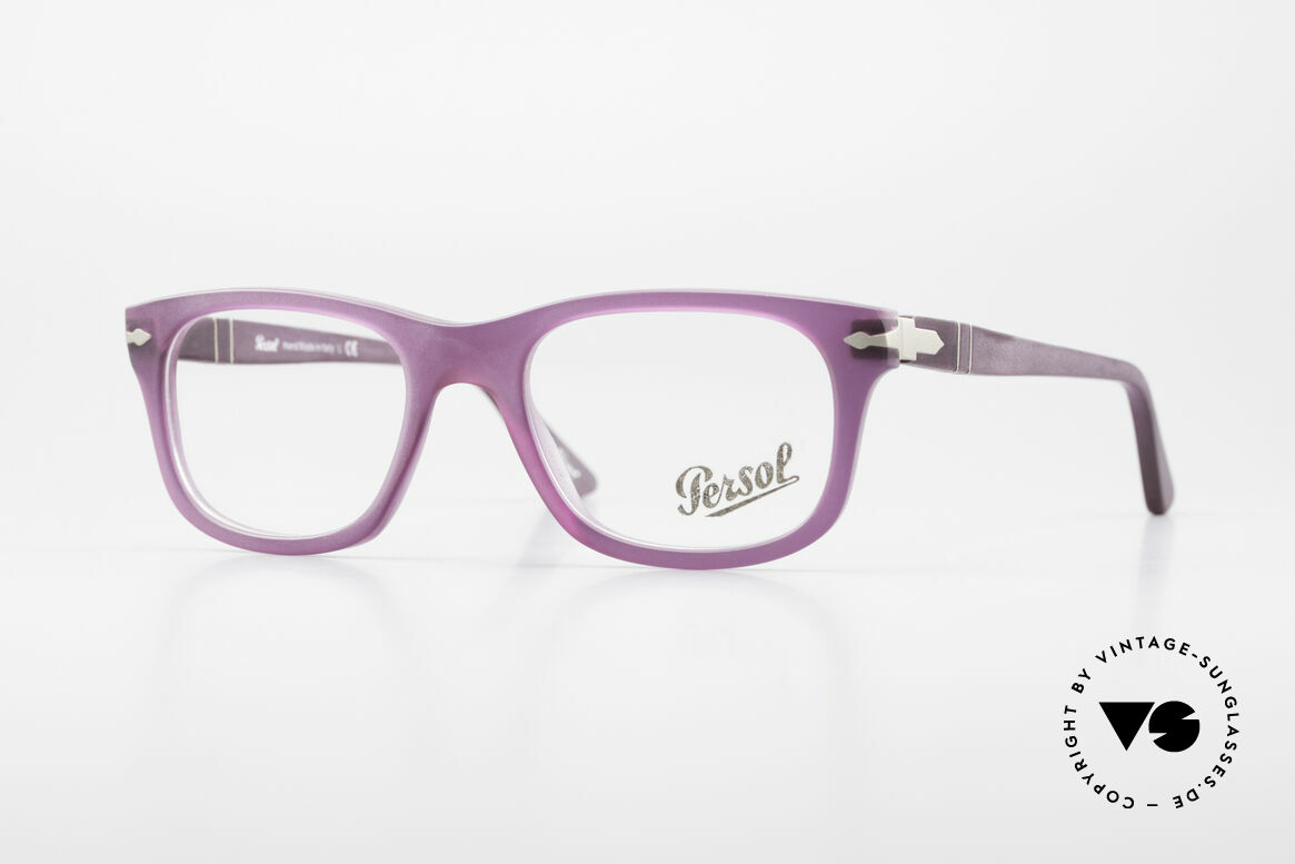 Persol 3029 Ladies Glasses Purple Violet, Persol glasses, mod. 3029 in SMALL size 50/19, Made for Women