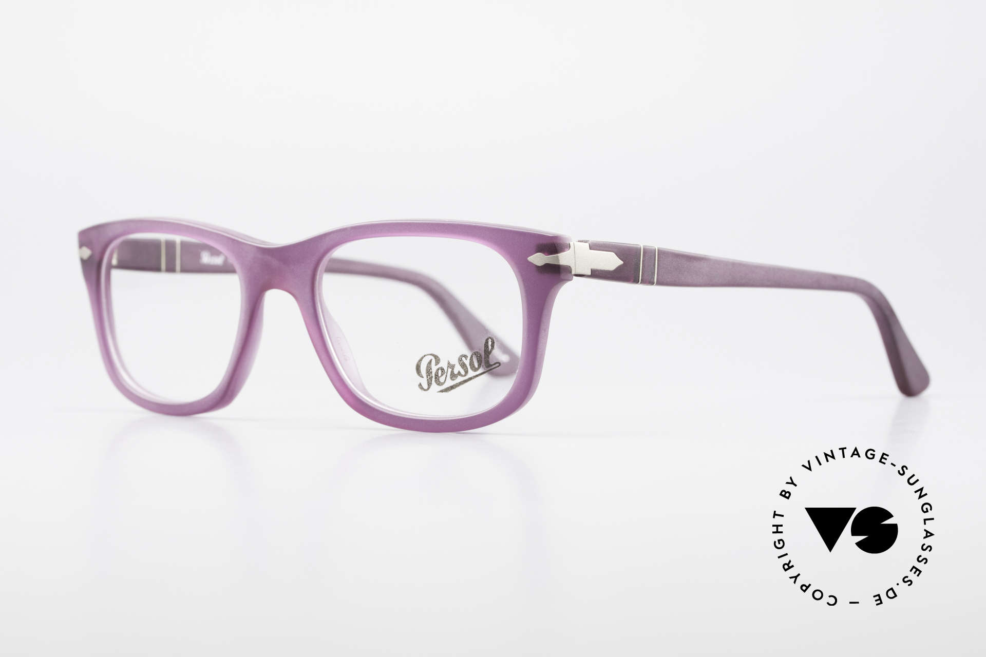 Persol 3029 Ladies Glasses Purple Violet, unworn (like all our classic PERSOL eyeglasses), Made for Women