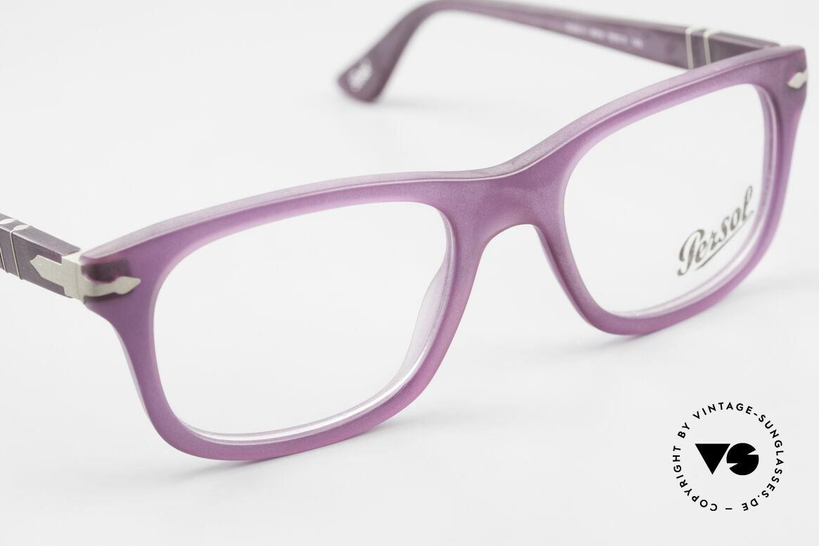 Persol 3029 Ladies Glasses Purple Violet, DEMOS can be replaced with lenses of any kind, Made for Women
