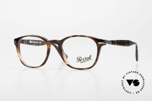 Persol 3122 Classic Square Panto Glasses Details