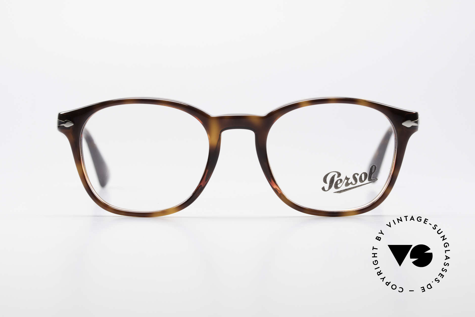 Persol 3122 Classic Square Panto Glasses, original name: 3122-V, col. 24, size 48-19, 145, Made for Men and Women