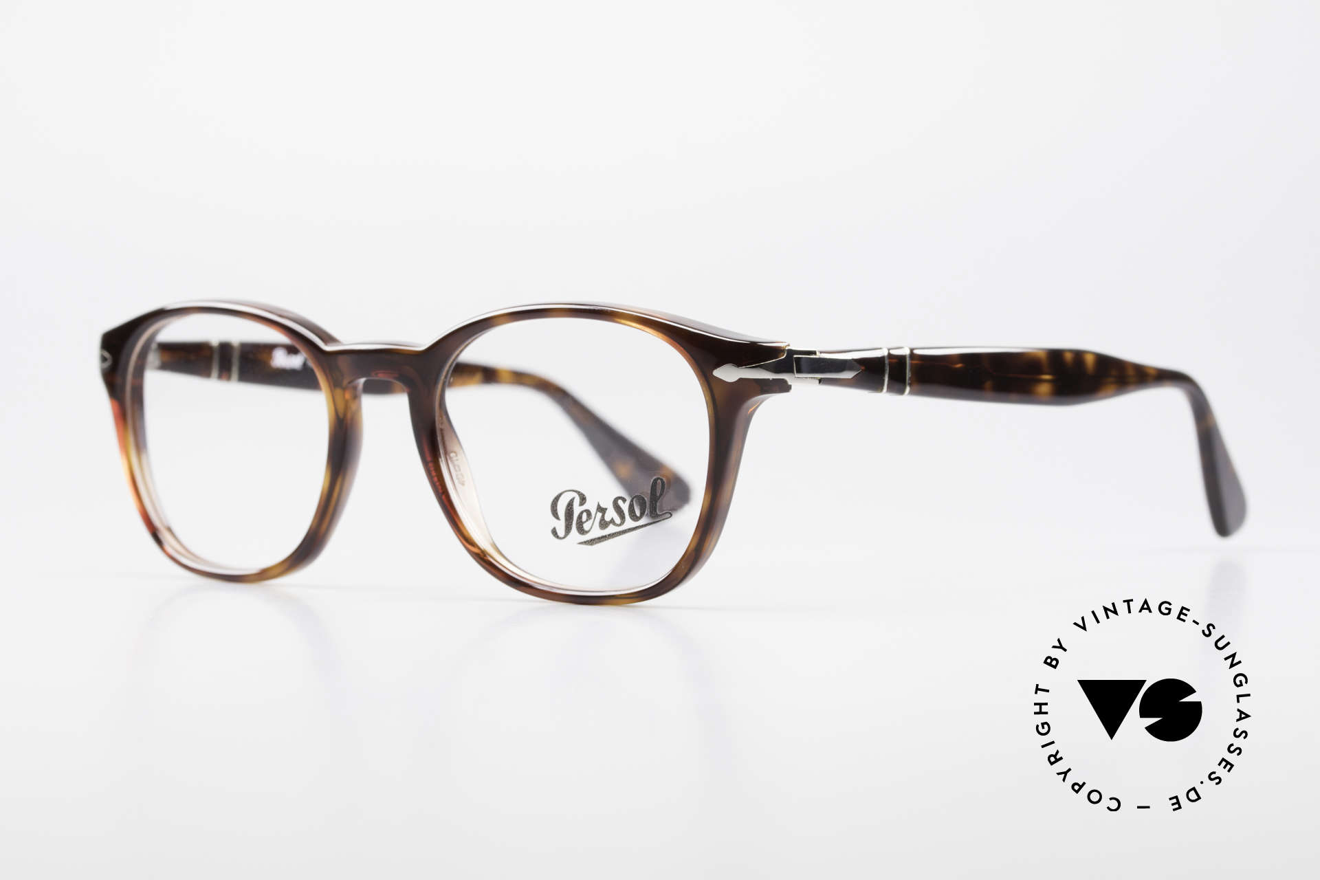Persol 3122 Classic Square Panto Glasses, square Panto design & top-notch craftsmanship, Made for Men and Women