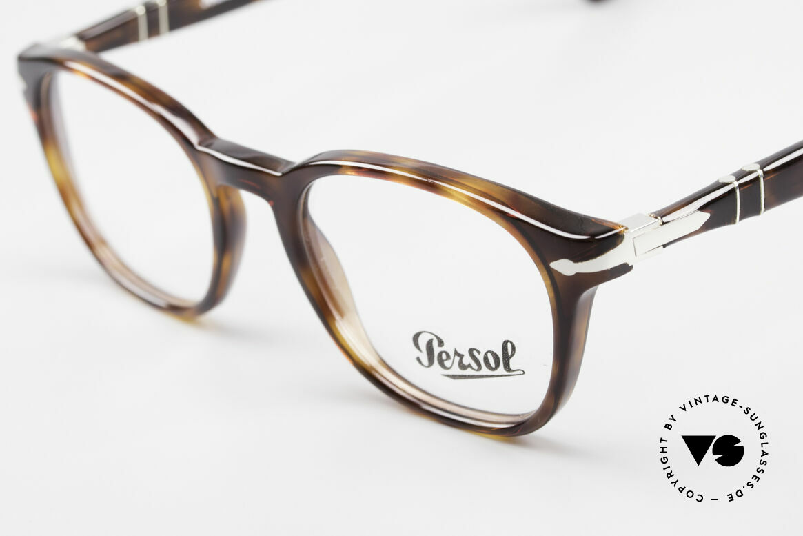 Persol 3122 Classic Square Panto Glasses, unworn (like all our classic PERSOL eyeglasses), Made for Men and Women