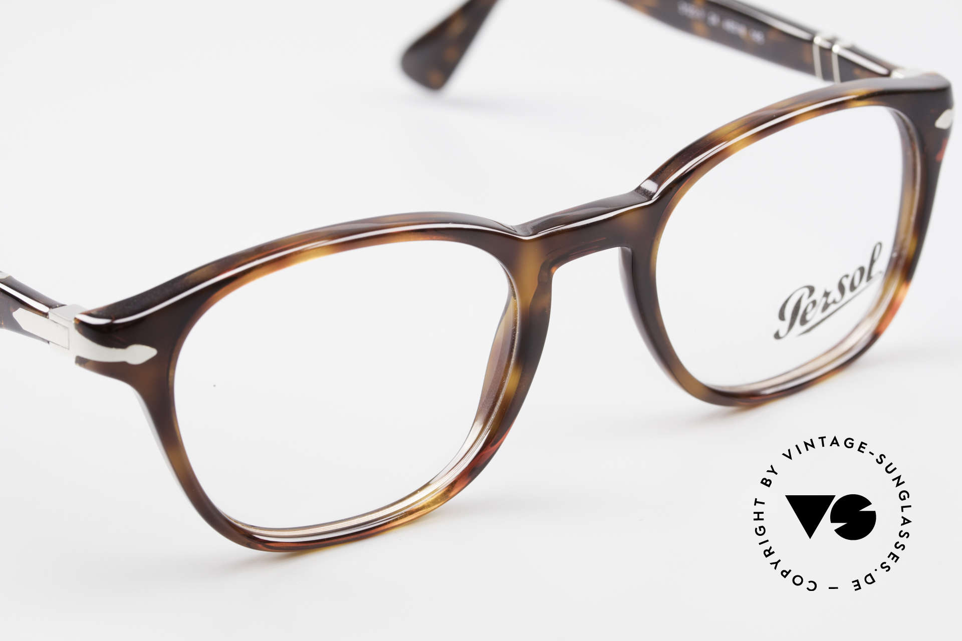 Persol 3122 Classic Square Panto Glasses, unisex model = suitable for ladies & gentlemen, Made for Men and Women