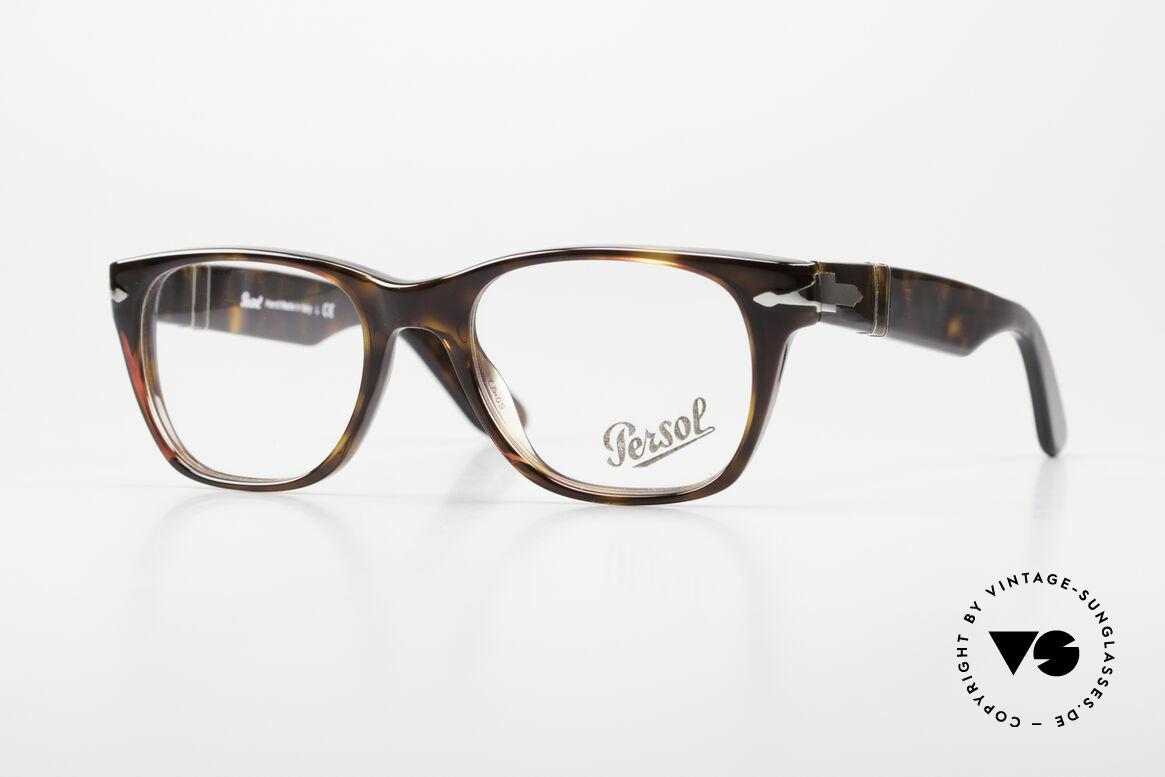 Persol 3039 Timeless Designer Eyeglasses, Persol 3039: current designer eyeglass-frame by Persol, Made for Men and Women