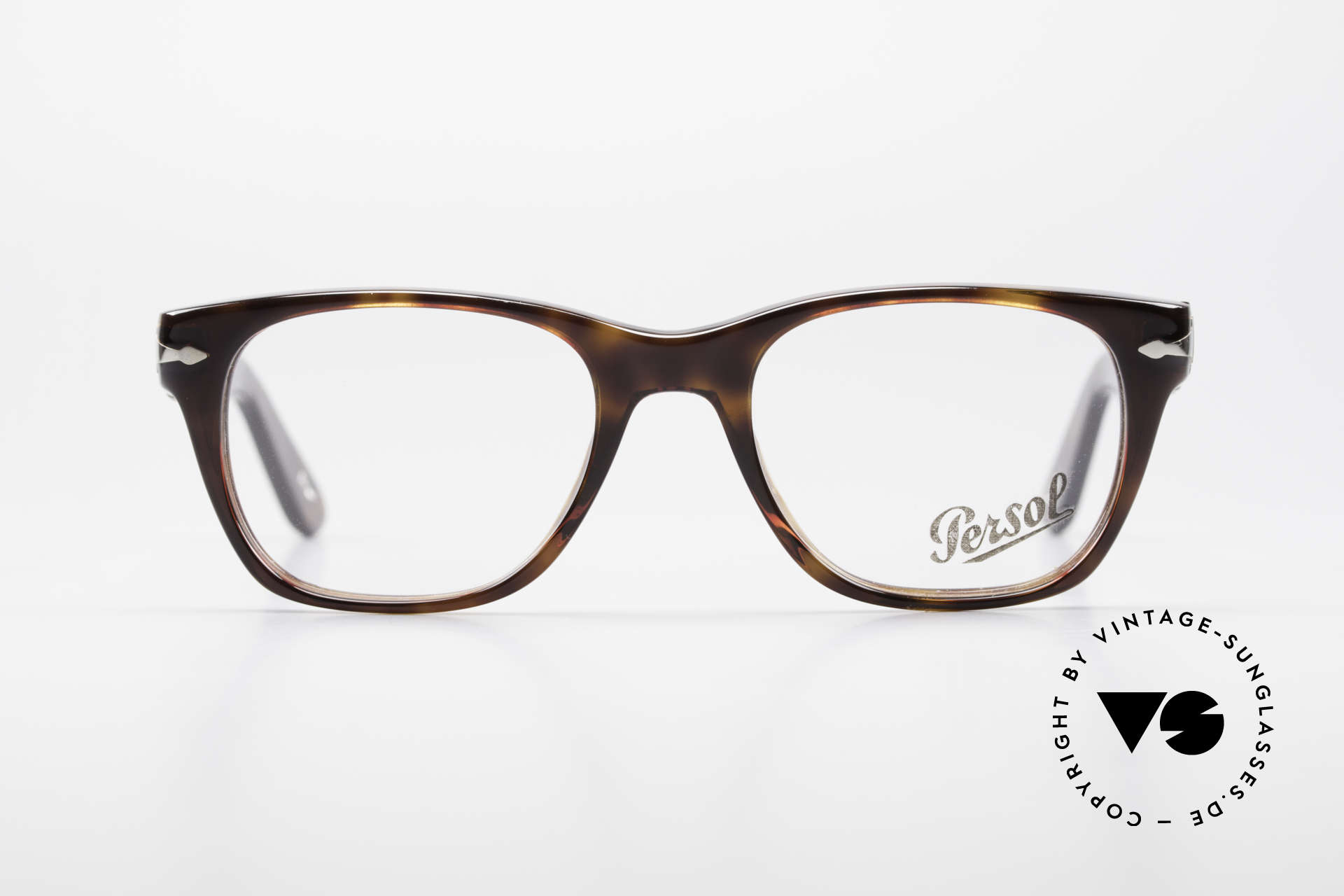 Persol 3039 Timeless Designer Eyeglasses, the current collection based on the old Persol RATTIS, Made for Men and Women