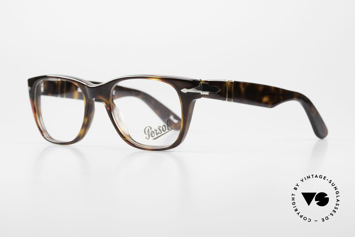 Persol 3039 Timeless Designer Eyeglasses, Steve McQueen made Persol RATTI models world-famous, Made for Men and Women
