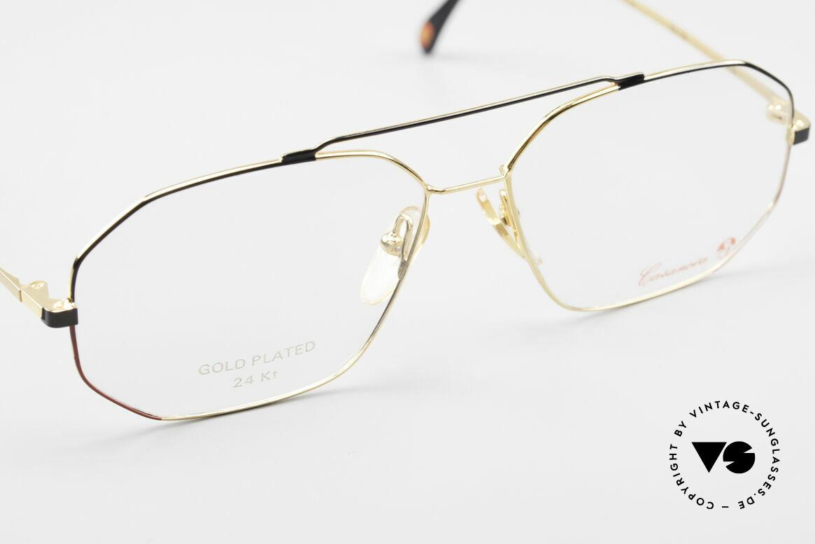 Casanova AC3 24KT Gold Plated Aviator Frame, NO RETRO glasses, but a precious vintage original, Made for Men