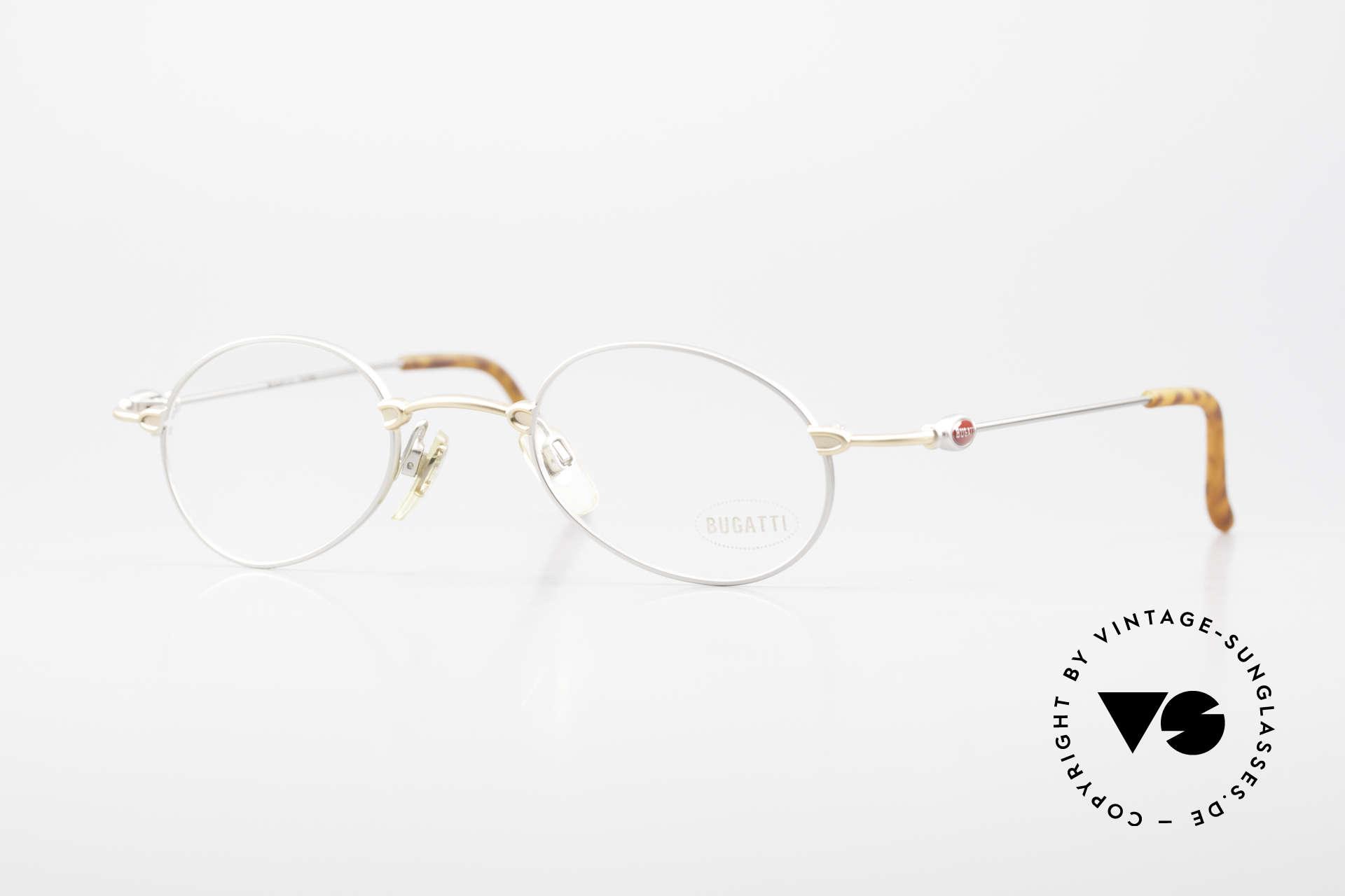 Bugatti 10759 Vintage Eyeglasses Men 90's, leightweight men's designer eyeglasses by BUGATTI, Made for Men