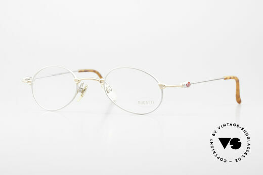 Bugatti 10759 Vintage Eyeglasses Men 90's Details