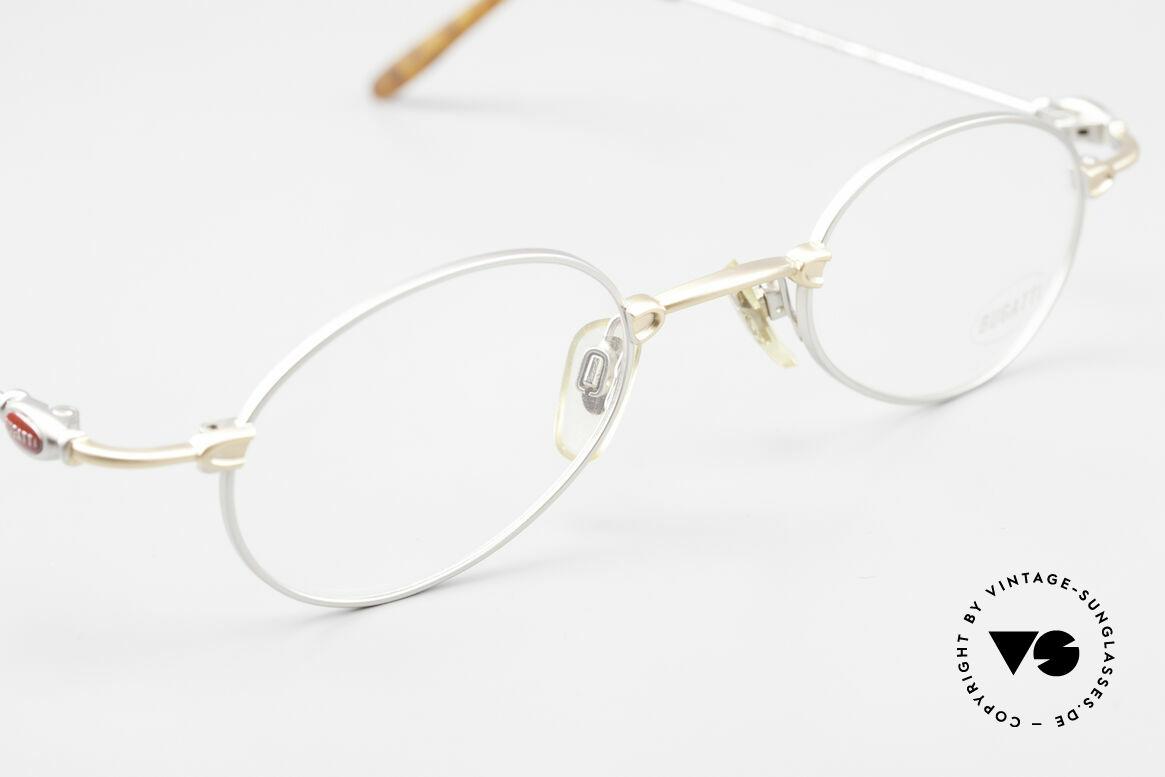Bugatti 10759 Vintage Eyeglasses Men 90's, NO retro fashion, but a unique 15 years old original!, Made for Men