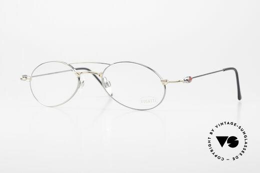 Bugatti 10892 Vintage Men's Eyeglasses 90's Details