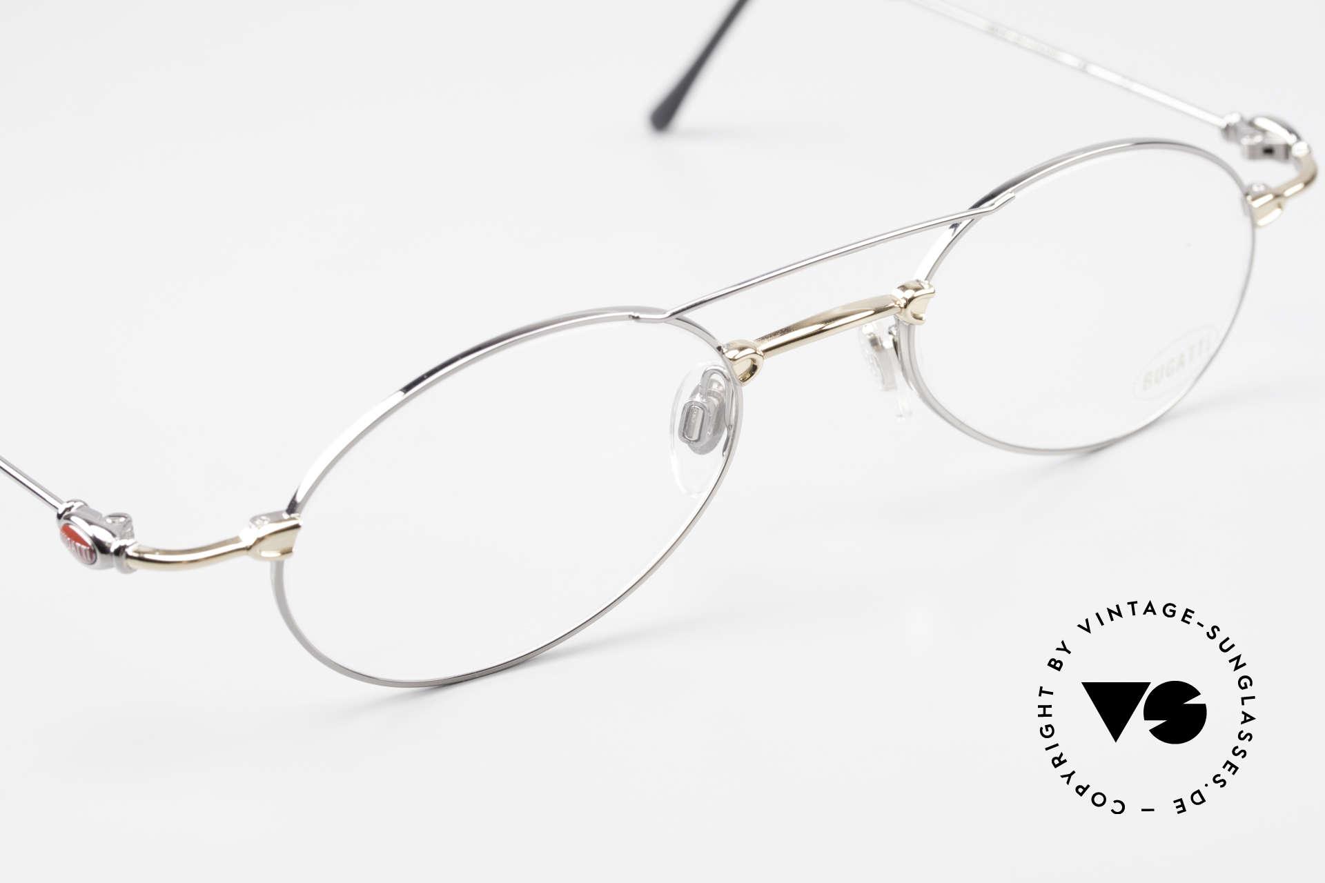 Bugatti 10892 Vintage Men's Eyeglasses 90's, NO retro fashion, but a unique 15 years old original!, Made for Men